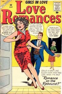 Cover Thumbnail for Love Romances (Marvel, 1949 series) #93