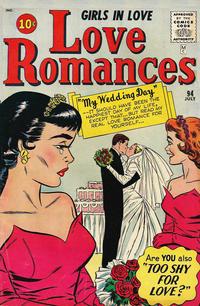 Cover Thumbnail for Love Romances (Marvel, 1949 series) #94