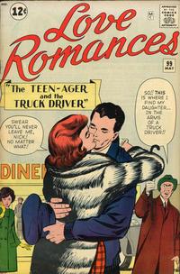 Cover Thumbnail for Love Romances (Marvel, 1949 series) #99