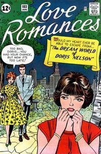 Cover Thumbnail for Love Romances (Marvel, 1949 series) #103