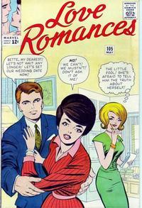 Cover Thumbnail for Love Romances (Marvel, 1949 series) #105