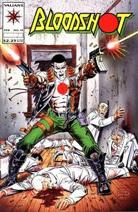 Cover Thumbnail for Bloodshot (Acclaim / Valiant, 1993 series) #13