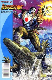 Cover Thumbnail for Bloodshot (Acclaim / Valiant, 1993 series) #26