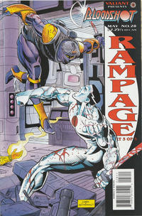Cover for Bloodshot (Acclaim / Valiant, 1993 series) #28