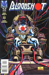 Cover Thumbnail for Bloodshot (Acclaim / Valiant, 1993 series) #42 [Direct Edition]