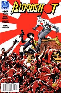 Cover Thumbnail for Bloodshot (Acclaim / Valiant, 1993 series) #44 [Direct Edition]