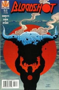 Cover Thumbnail for Bloodshot (Acclaim / Valiant, 1993 series) #51 [Direct Edition]