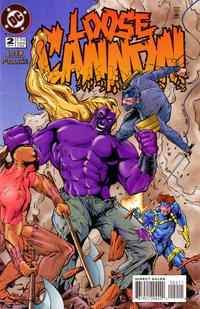 Cover Thumbnail for Loose Cannon (DC, 1995 series) #2