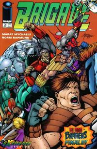 Cover for Brigade (Image, 1993 series) #3 [Direct Edition]