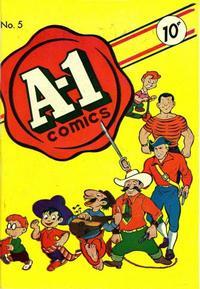 Cover Thumbnail for A-1 (Magazine Enterprises, 1945 series) #5