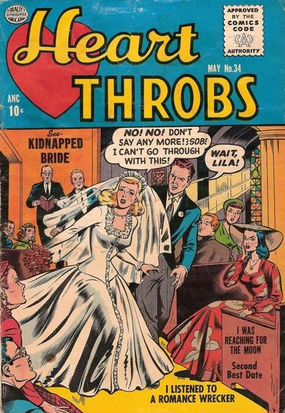 Cover for Heart Throbs (Quality Comics, 1949 series) #34