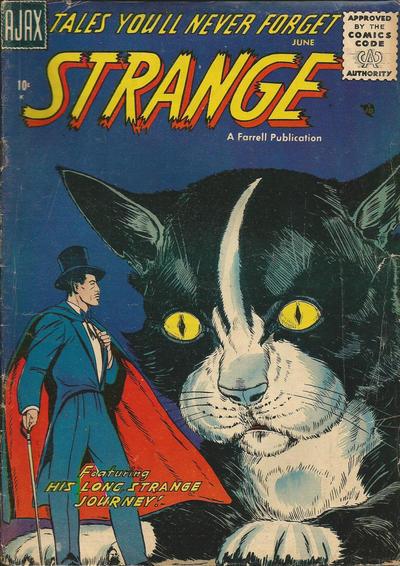 Cover for Strange (Farrell, 1957 series) #2