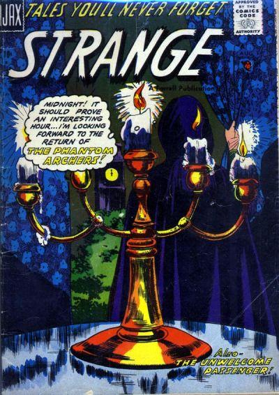 Cover for Strange (Farrell, 1957 series) #3