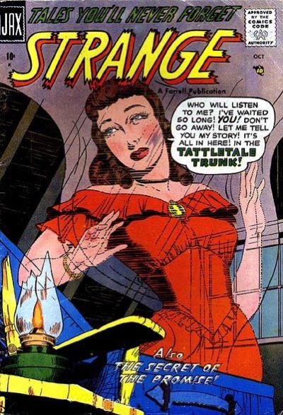 Cover for Strange (Farrell, 1957 series) #4