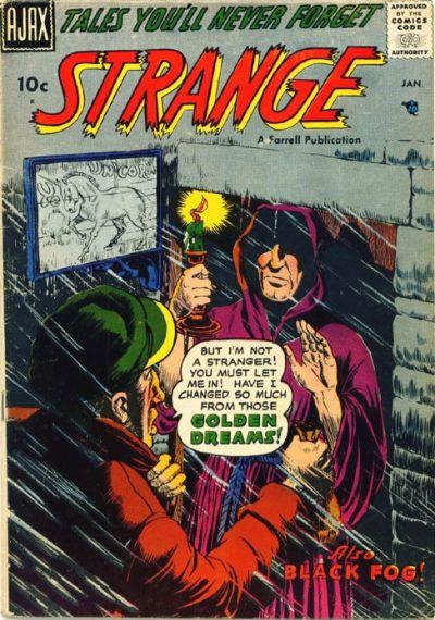 Cover for Strange (Farrell, 1957 series) #5