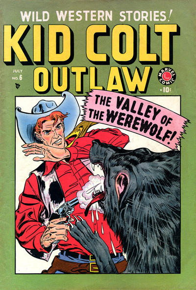 Cover for Kid Colt Outlaw (Marvel, 1949 series) #6