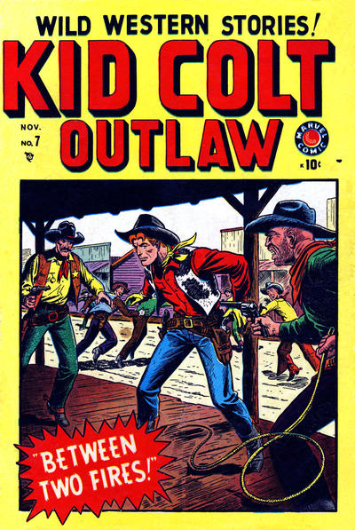 Cover for Kid Colt Outlaw (Marvel, 1949 series) #7