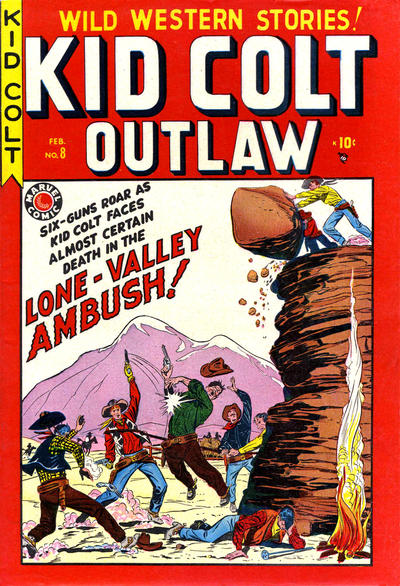 Cover for Kid Colt Outlaw (Marvel, 1949 series) #8
