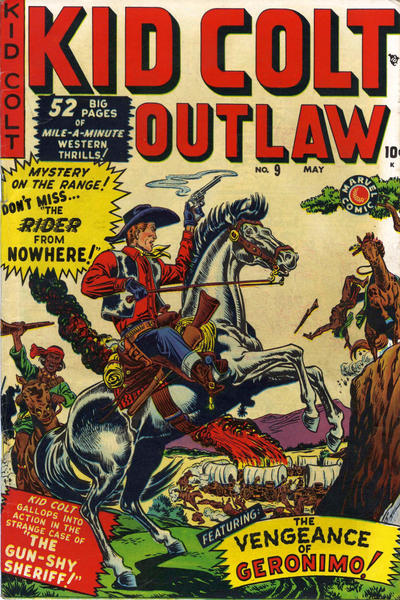 Cover for Kid Colt Outlaw (Marvel, 1949 series) #9
