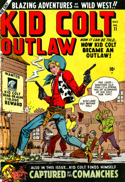 Cover for Kid Colt Outlaw (Marvel, 1949 series) #11