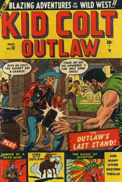 Cover for Kid Colt Outlaw (Marvel, 1949 series) #13