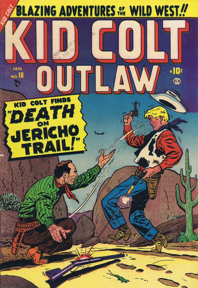 Cover for Kid Colt Outlaw (Marvel, 1949 series) #18