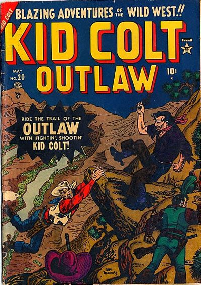 Cover for Kid Colt Outlaw (Marvel, 1949 series) #20
