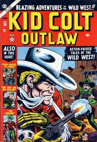 Cover for Kid Colt Outlaw (Marvel, 1949 series) #28