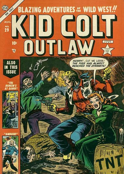 Cover for Kid Colt Outlaw (Marvel, 1949 series) #29