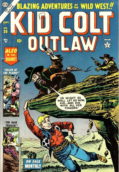 Cover for Kid Colt Outlaw (Marvel, 1949 series) #30