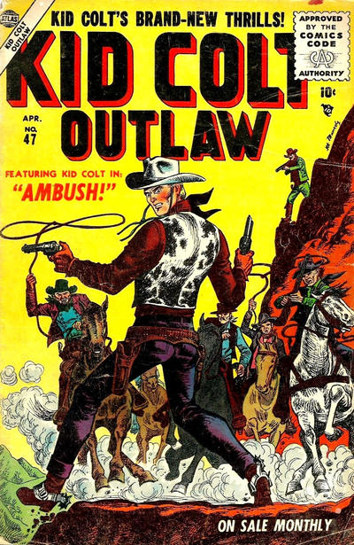 Cover for Kid Colt Outlaw (Marvel, 1949 series) #47