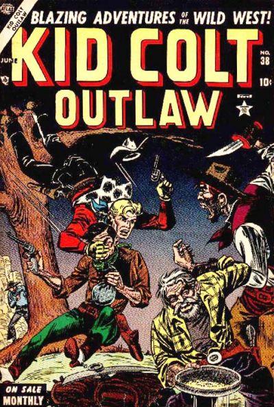 Cover for Kid Colt Outlaw (Marvel, 1949 series) #38
