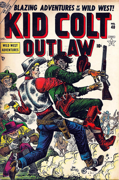 Cover for Kid Colt Outlaw (Marvel, 1949 series) #40