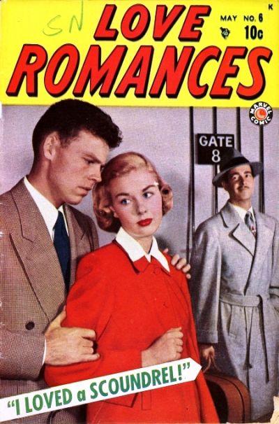 Cover for Love Romances (Marvel, 1949 series) #6