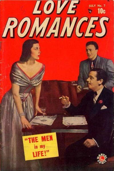 Cover for Love Romances (Marvel, 1949 series) #7