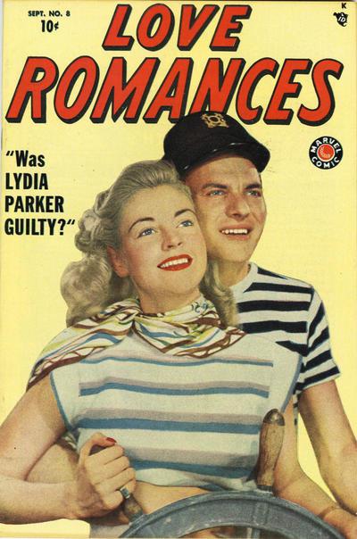 Cover for Love Romances (Marvel, 1949 series) #8