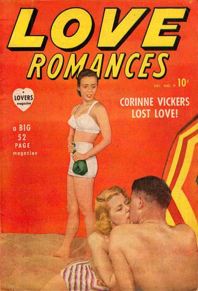 Cover for Love Romances (Marvel, 1949 series) #9