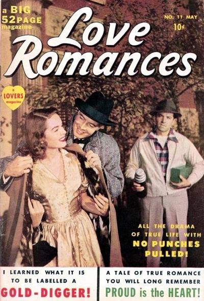 Cover for Love Romances (Marvel, 1949 series) #11