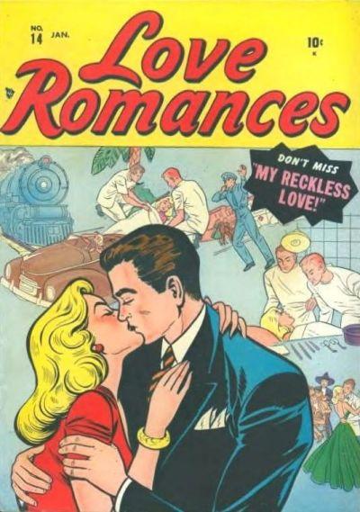 Cover for Love Romances (Marvel, 1949 series) #14