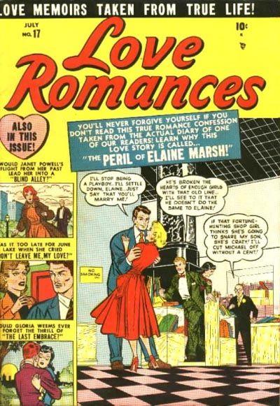 Cover for Love Romances (Marvel, 1949 series) #17