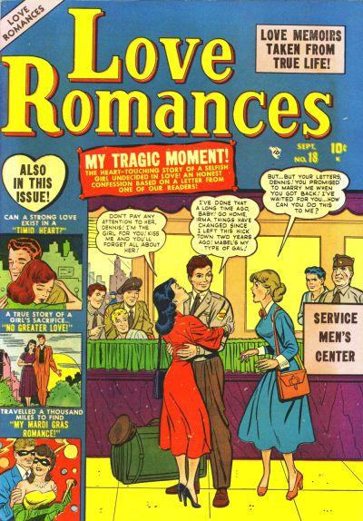 Cover for Love Romances (Marvel, 1949 series) #18