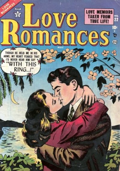 Cover for Love Romances (Marvel, 1949 series) #22