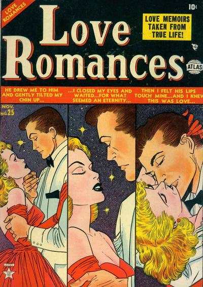 Cover for Love Romances (Marvel, 1949 series) #25