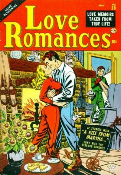 Cover for Love Romances (Marvel, 1949 series) #28