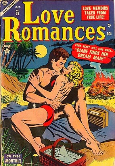 Cover for Love Romances (Marvel, 1949 series) #32