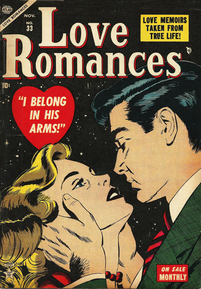 Cover for Love Romances (Marvel, 1949 series) #33
