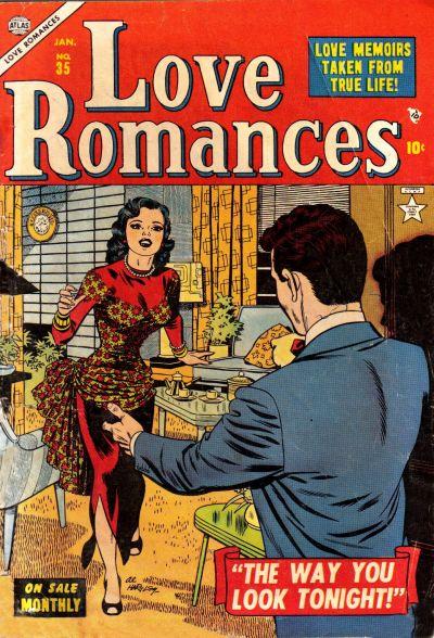 Cover for Love Romances (Marvel, 1949 series) #35