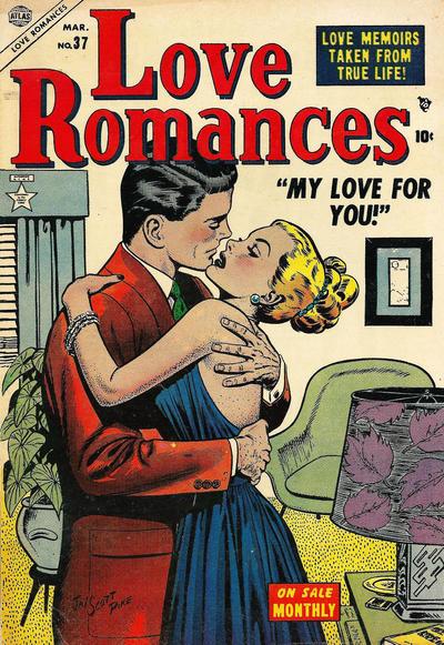 Cover for Love Romances (Marvel, 1949 series) #37