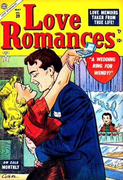 Cover for Love Romances (Marvel, 1949 series) #39