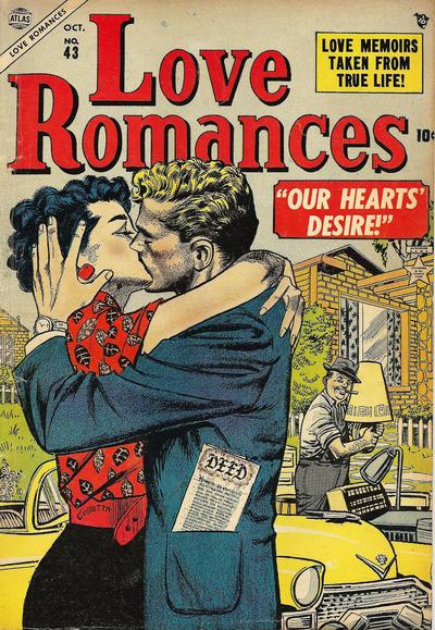 Cover for Love Romances (Marvel, 1949 series) #43